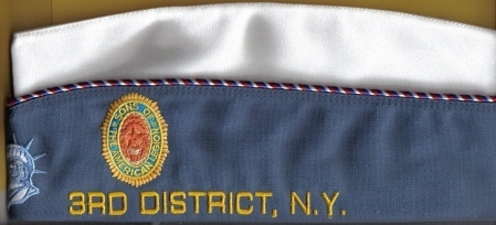 Click to see larger: District Level Cap, Left Side